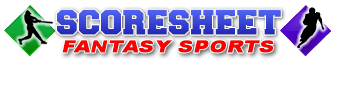 Scoresheet Fantasy Sports - fantasy baseball, fantasy football, fantasy hockey