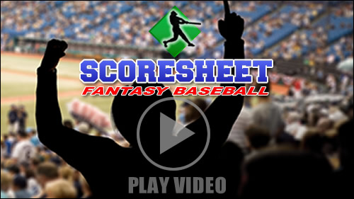 Scoresheet Fantasy Baseball Overview | The Best Fantasy Baseball